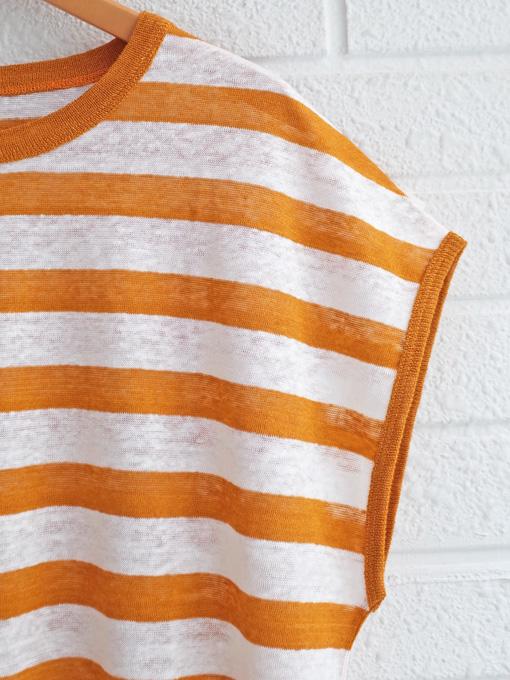 bellerose woman レディース リネンジャージーボーダーTシャツ