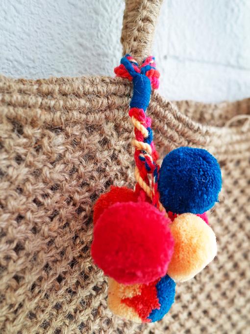 bellerose woman ジュート編みトートバッグ