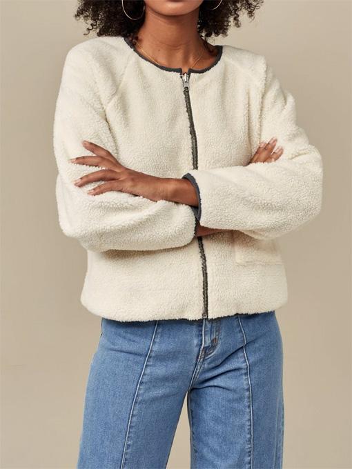 bellerosw woman ベルローズウーマン リバーシブルボアジャケット