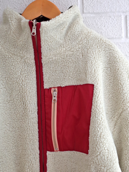 bellerose woman ベルローズウーマン リバーシブルボアジャケット
