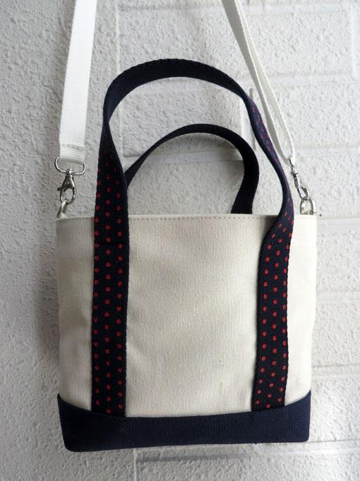 フランス子供服 bonpoint ボンポワン キャンバスミニトート ショルダーバッグ
