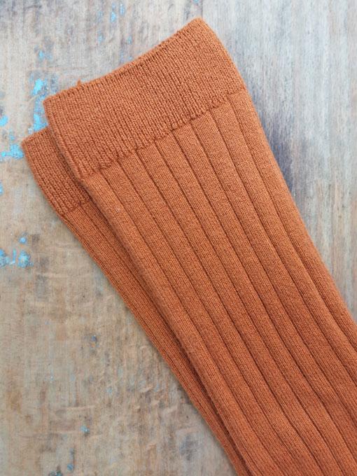 CONDOR Ribbed high socks  リブハイソックス