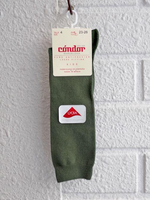 プレーンハイソックス CONDOR コンドル スペイン靴下ブランド 靴下・タイツ