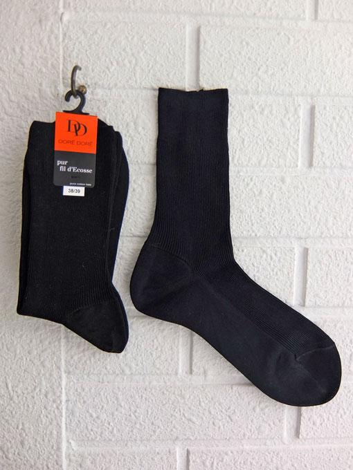 フランス老舗靴下ブランド DOREDORE ドレドレ リブソックス