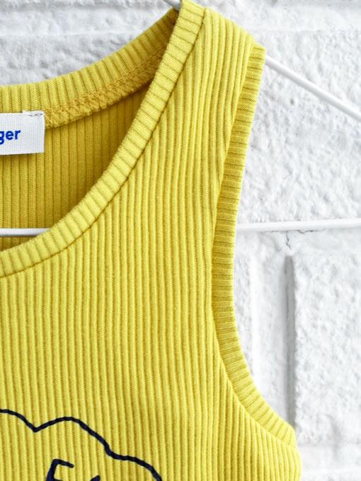 ベルギー子供服 fred+ginger フレッドアンドジンジャー クッキーファクトリーリブタンクトップ